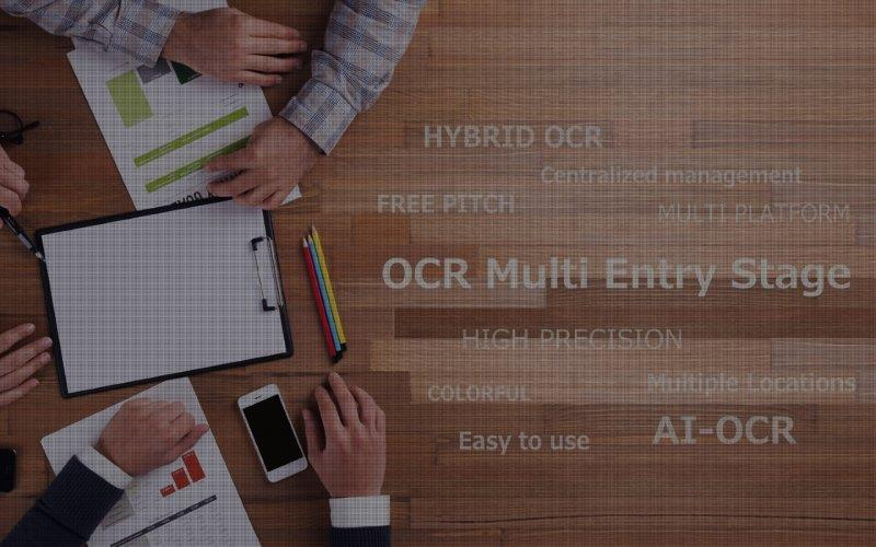 クラウド型OCRサービス OCR Multi Entry Stage